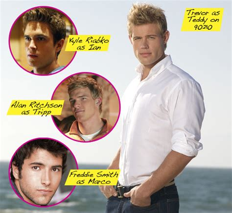 90210's Trevor Donovan Says First Gay Kiss Was 'Nerve