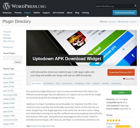 Uptodown Widget for Publishers and Blogs - Blog Uptodown