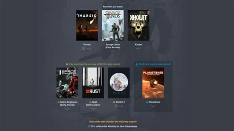 This week's Humble Bundle is all survival, all the time - VG247