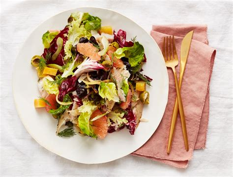 Smoked Trout Salad with Grapefruit and Beets Recipe   Goop