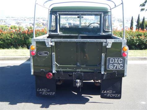 1965 Land Rover Series IIA For Sale - Old Had Better