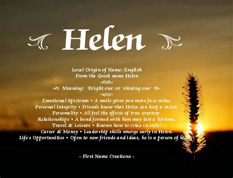 Helen name | Names with meaning, Names, Meant to be