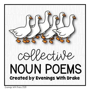 Collective Noun Poems by Evenings With Drake   Teachers