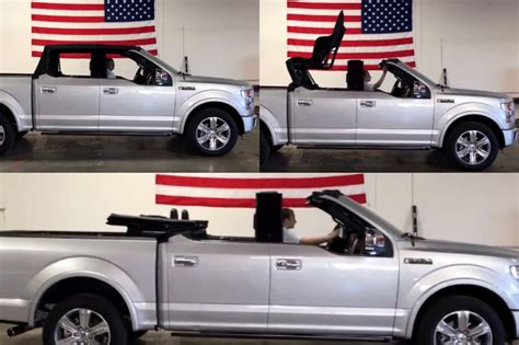 F-150 Convertible: Just in Time for Spring Break