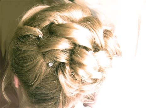 Soft Updo Hairstyles For Mother's   Elegance Updo with