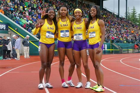 LSU's 4x100 relay team, Aleia Hobbs roll to easy wins as Lady Tigers finish sixth at NCAA meet