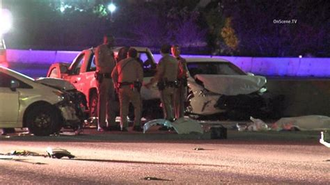 Freeway carnage: 3 killed in 'particularly violent' Carson