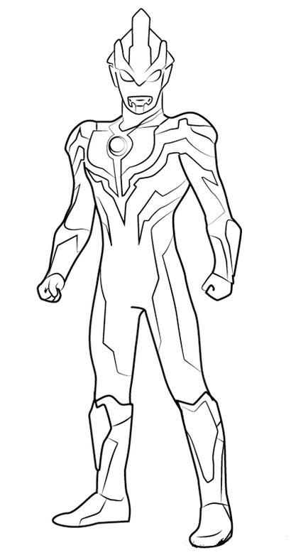Ultraman Coloring Pages - Coloring Home