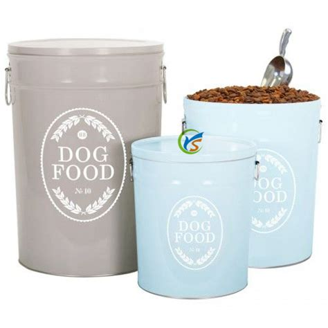 High Quality Metal Dog Food Storage Containers - Buy Dog