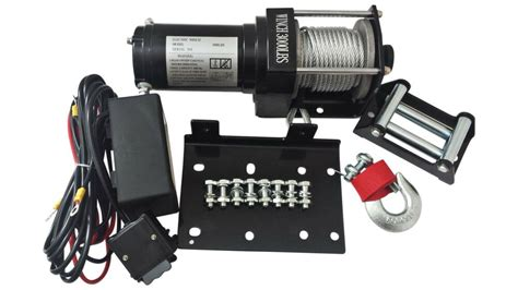 3000 Lb Winch ATV 12V Volt Kit Recovery Towing Truck