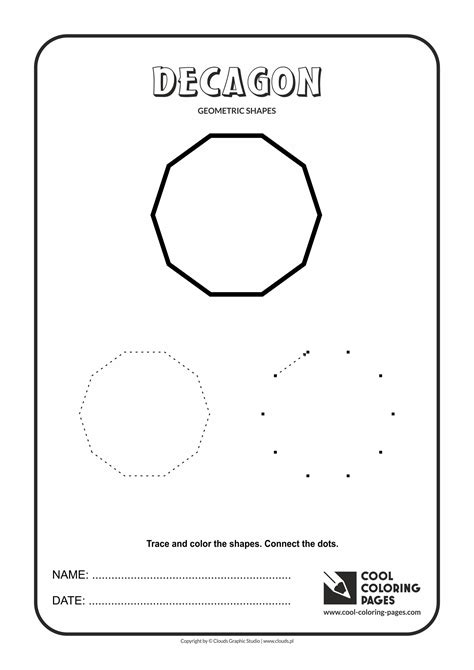 Cool Coloring Pages Geometric Shapes - Cool Coloring Pages