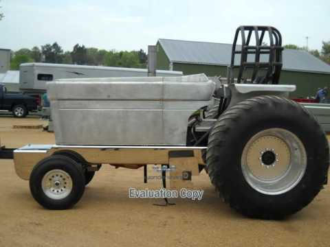 6200 lbs Modified 4x4 Tube Frame Rolling Chassis for Sale