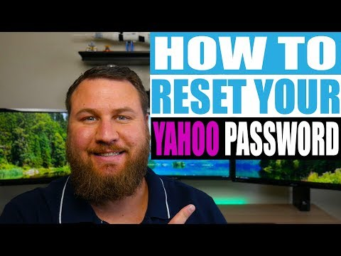 Yahoo email password problems - recover it to access you