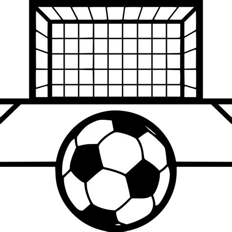 Foot Soccer Goal Svg Png Icon Free Download (#531214