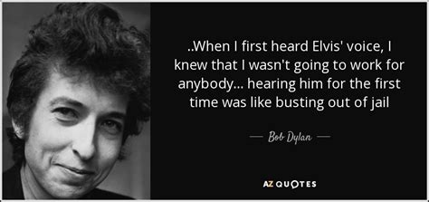 Bob Dylan quote: