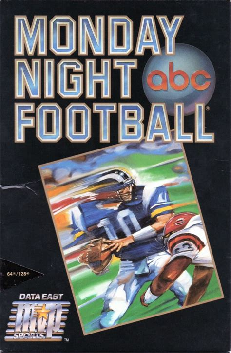 ABC Monday Night Football for Commodore 64 (1989) - MobyGames