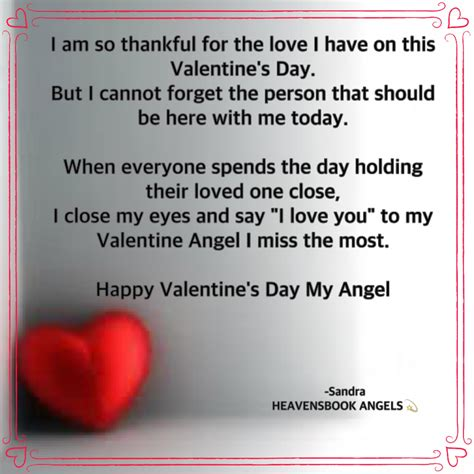 Valentine Angel I Miss the Most | The Grief Toolbox