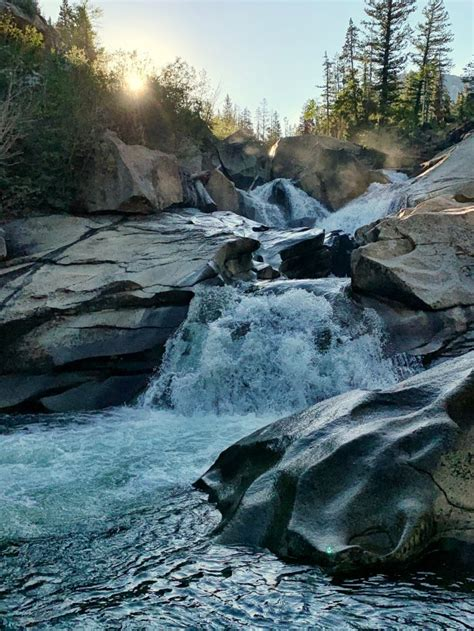 Hike to Ice Caves, Waterfall and Erratics on Grottos Trail