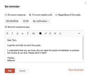A Gentle Reminder Email   scrumps
