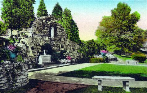 Grotto of Our Lady of Lourdes – West Terre Haute, Indiana